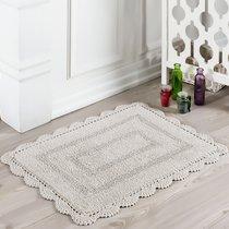 Коврик для ванной Evora, кружевной, цвет коричневый, 50x70 - Bilge Tekstil