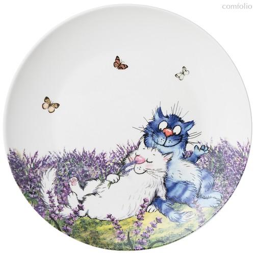 Тарелка Закусочная Lefard Лаванда 20,5 см - Meizhou Yuesenyuan