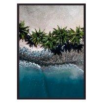 Пальмы на пляже, 21x30 см - Dom Korleone