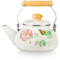 """Чайник 2,1л """"Бабочки на лугу"""" (эмаль) - Lenox"""
