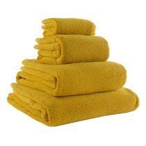 Полотенце банное горчичного цвета Essential, 70х140 см - Tkano