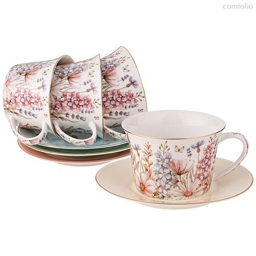 Чайный Набор Lefard Дворцовый Парк 260 мл 8 Пр. На 4 Пер. Микс - Kingensin Porcelain Industrial