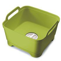 Контейнер для мытья посуды Wash&Drain™ зеленый - Joseph Joseph
