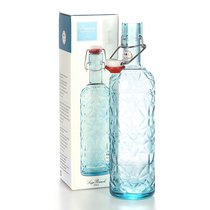 Бутылка с герметичной крышкой 1л Prezioso BLUE - Luigi Bormioli