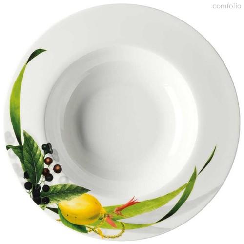 """Тарелка суповая с бортом 23см """"Фруктовый сад"""" - Rosenthal"""