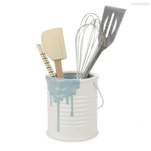 Подставка для кухонных принадлежностей Painty синяя, цвет синий - Balvi
