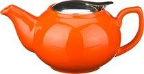 Заварочный чайник С Металлической Крышкой 600 мл, цвет оранжевый - Hebei Grinding Wheel Factory