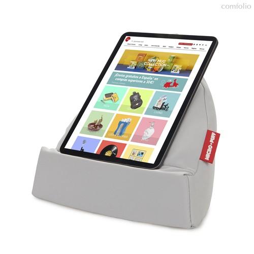 Подставка для планшета и смартфона Micro Puff серая, цвет серый - Balvi
