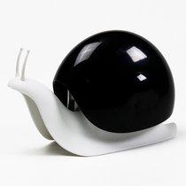 Диспенсер для мыла Escar, белый с черным - Qualy