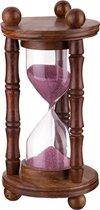 Часы Песочные Диаметр 10 см Высота 19 см Время 6Мин 38Сек - STANDARD ART PRODUCTS