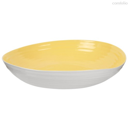 """Блюдо на ножке Portmeirion Конран для Портмейрион"""" 36,5см (желтое) - Portmeirion"""