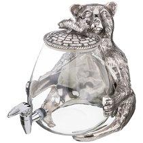 Диспенсер Для Напитков Медведь 33x28x32 см 7,5 Л. Серия Dal Mare - Universal Ark Enterprises