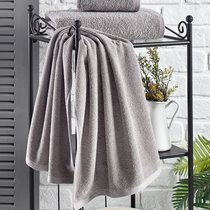"Полотенце махровое ""KARNA"" EFOR 420 гр (40x60) см 1/1, цвет серый, 40x60 - Bilge Tekstil"