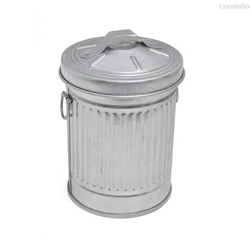 Пепельница Garbage, цвет серебряный - Balvi