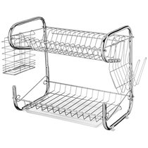 Подставка Под Посуду Agness Настольная+Пластиковый Поддон 40X24, 5X36 см - YIWU FRAMER