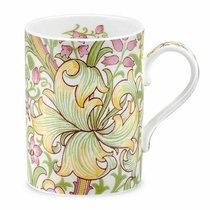 """Кружка Royal Worcester """"Моррис и Ко.Золотая лилия"""" 350мл (оливковая) - Royal Worcester"""