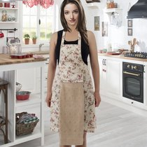 Фартук кухонный Karna с салфеткой 30x50, цвет бежевый - Bilge Tekstil