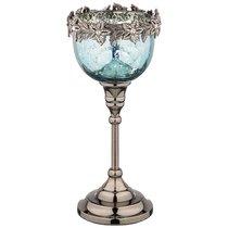 Подсвечник. Диаметр 11,5 см Высота 25,5 см - Globe Artwares Impex