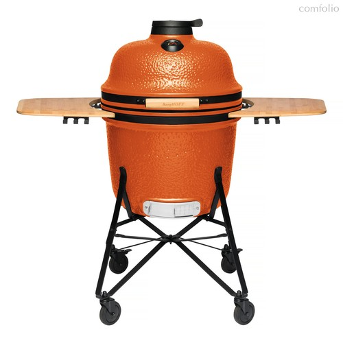 Керамический уличный гриль большой, цвет оранжевый - BergHOFF