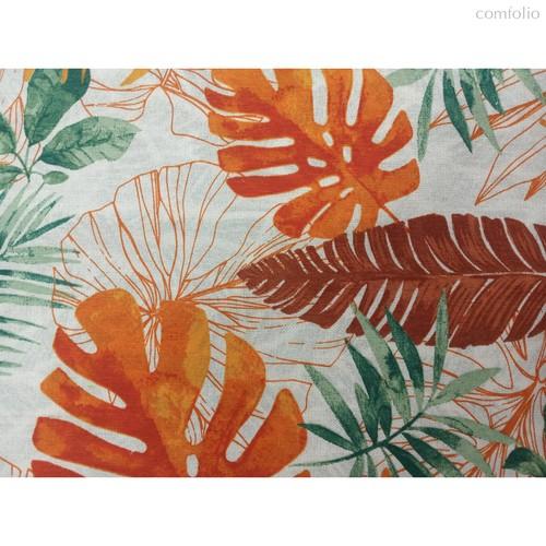 Ткань лонета Раджа Оранж ширина 280 см, 3085/1, цвет оранжевый - Altali