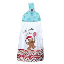 """Полотенце кухонное Kay Dee Designs с держателем """"Рождественская история"""" 23х46см, хлопок (Снеговик) - Kay Dee Designs"""