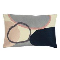 Подушка декоративная с дизайнерским орнаментом из коллекции Ethnic, 30х50 см - Tkano