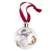 """Украшение новогоднее, шар Royal Worcester """"Снеговичок"""" 6,6см, п/к - Royal Worcester"""