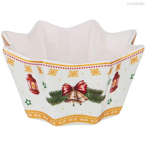 Креманка Christmas Collection 12,5Х12,5Х6см. - Jinding