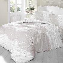 Постельное белье Ranforce Melina, цвет кофейный, размер 1.5-спальный - Altinbasak Tekstil