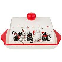 Масленка Коллекция Party Cats 19,5x12,6x10,3 см - Zhenfeng Ceramics