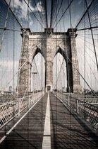 Бруклинский мост 60х90 см, 60x90 см - Dom Korleone