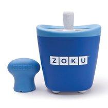 Набор для приготовления мороженого Single Quick Pop Maker синий - Zoku