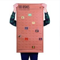 Постер «100 блюд, которые нужно попробовать, прежде чем умереть» - DOIY