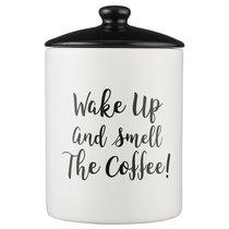 Емкость для хранения кофе Carnaby Script 15,5х9,5 см - Price & Kensington