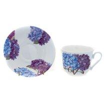 Чайная пара для завтрака Гортензия 500 мл - Roy Kirkham