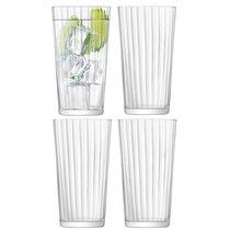 Набор из 4 стаканов для сока Gio Line 320 мл - LSA International