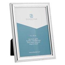 Рамка для фото Zilverstad Pearl 13х18см, сталь, глянцевая, серебряная - Zilverstad