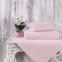 Полотенце Karna Mora, микрокотон, цвет пудра, 50x90 - Bilge Tekstil