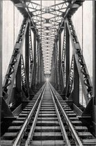 Железная дорога 60х90 см, 60x90 см - Dom Korleone