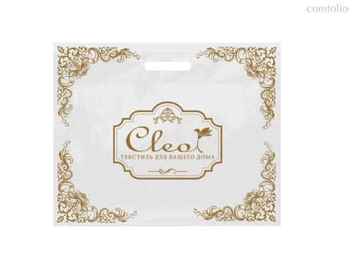 """Пакет """"CLEO"""" ПНД ВУР, белый, 60*50+6/60мкм, 1+0 (CLEO), цвет белый - Cleo"""