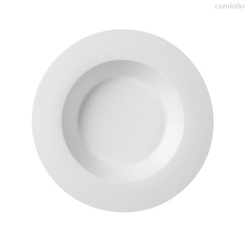 Тарелки суповые 23 см 400 мл, цвет белый - Top Art Studio