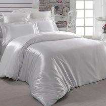 Постельное белье Karna Arin, шелк, цвет кремовый, размер 2-спальный - Karna (Bilge Tekstil)