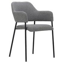 Кресло Wendy, рогожка, серое - Berg