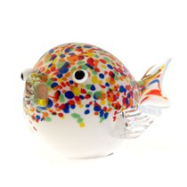Фигурка Рыба фугу 23см - Art Glass