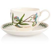 """Чашка для завтрака с блюдцем Portmeirion """"Ботанический сад.Незабудка"""" 280мл - Portmeirion"""