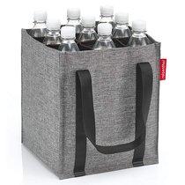 Сумка-органайзер для бутылок Bottlebag twist silver - Reisenthel