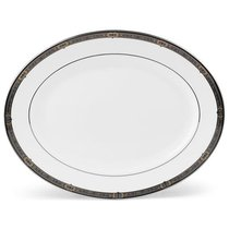"""Блюдо овальное Lenox """"Классические ценности"""" 33см, цвет белый, 33 см - Lenox"""