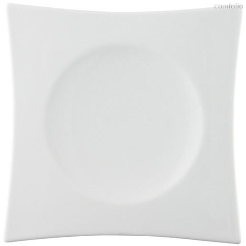 "Тарелка для суши квадратная 20см ""Суоми"" (белая) - Rosenthal"
