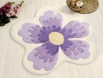 LAVIN Lila (фиолетовый) Коврик для ванной, 100x100 - Irya