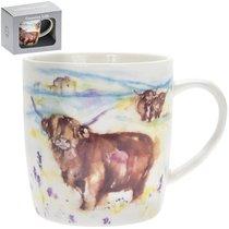 Кружка Сельская жизнь Высокогорная корова 300мл - Lesser & Pavey